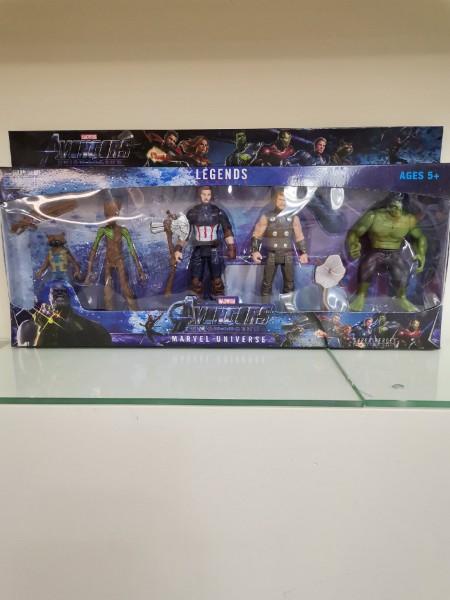 Набор супергероев Avengers Union Legend 15 см (4 героя)