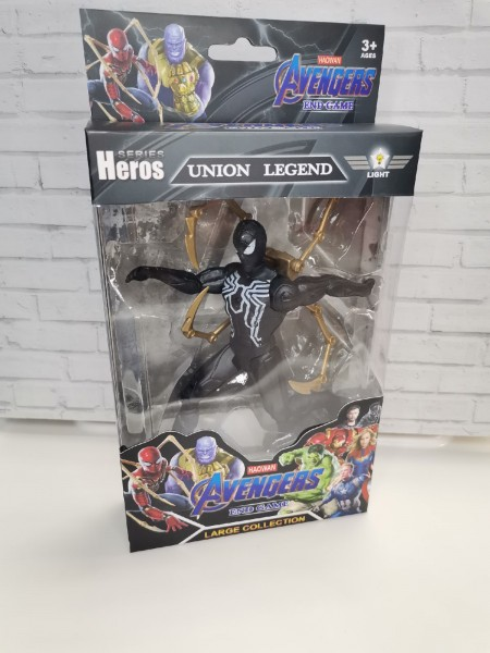 Супергерой Avengers End Game Union Legend 16 см (свет)