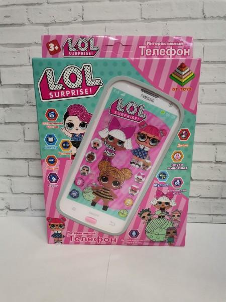 Телефон интерактивный LOL (песни, свет, музыка)