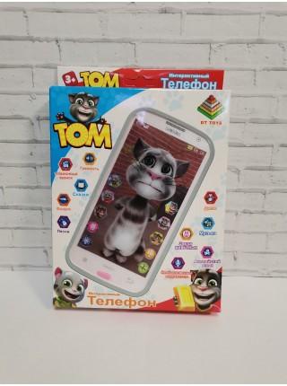 Телефон интерактивный Кот Том (песни, свет, музыка)