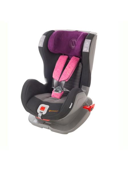 Автокресло AVIONAUT GLIDER SOFTY ISOFIX Черный/Фиолетовый