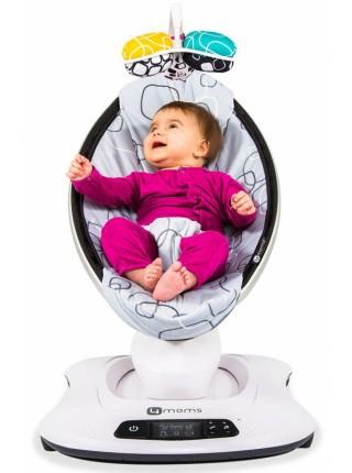 Кресло-качалка 4moms МамаРу 4.0 Серая Плюш