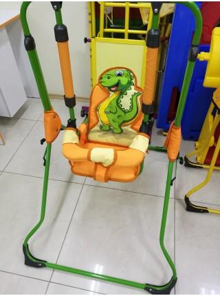 Качели детские механические Gusio Динозаврик